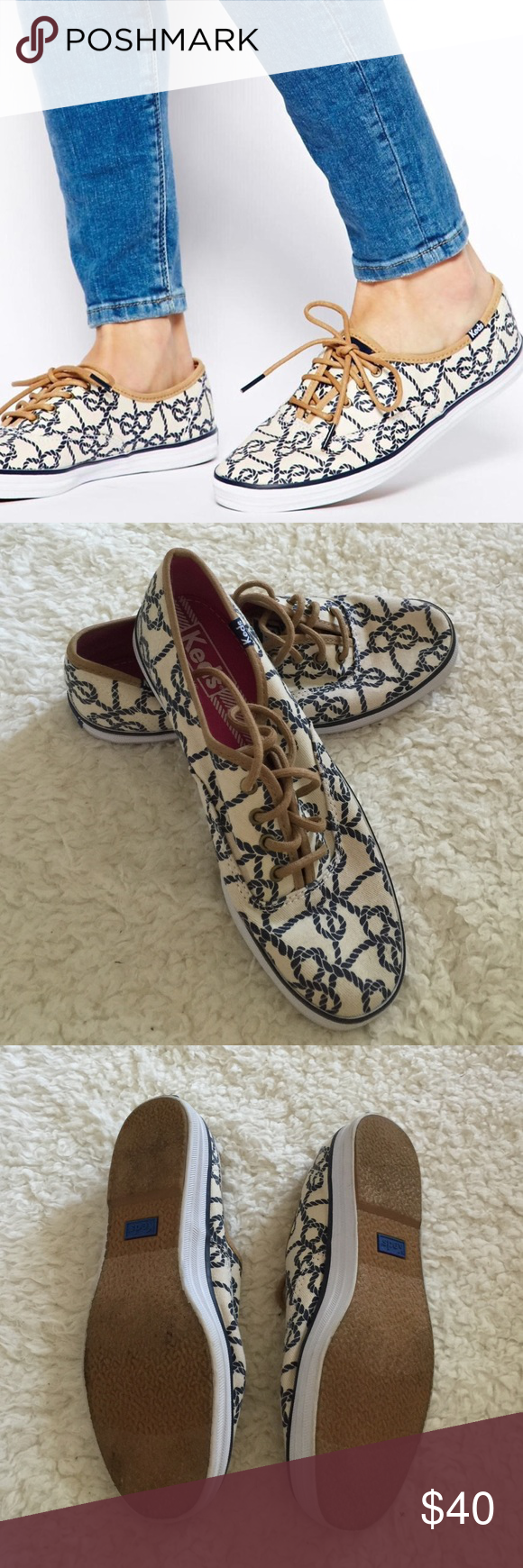 Keds champion knot Excellent condition keds champion knot sneaker size 5 keds Shoes Sneakers