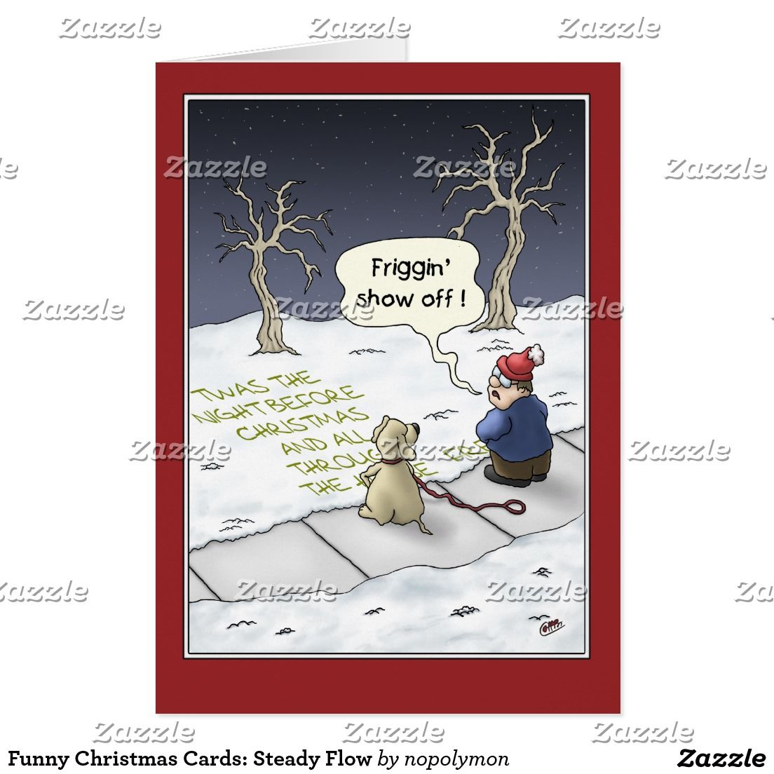 Funny Christmas Cards Steady Flow Card Mondays Christmas Cards