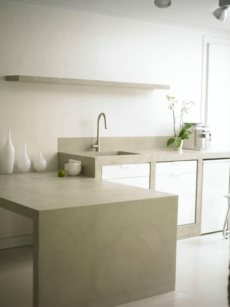Beton Cire - traumhafte Wandgestaltung für jeden Raum - küchenarbeitsplatte buche massiv