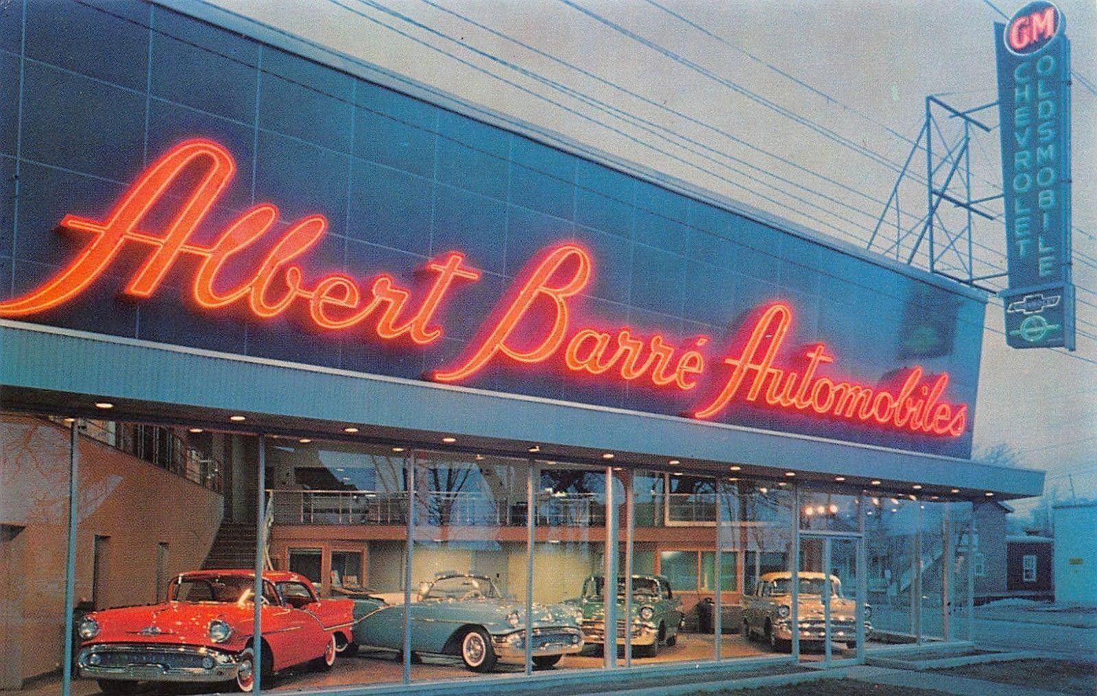 1956 Albert Barre Automobiles Ltd Chevrolet Oldsmobile