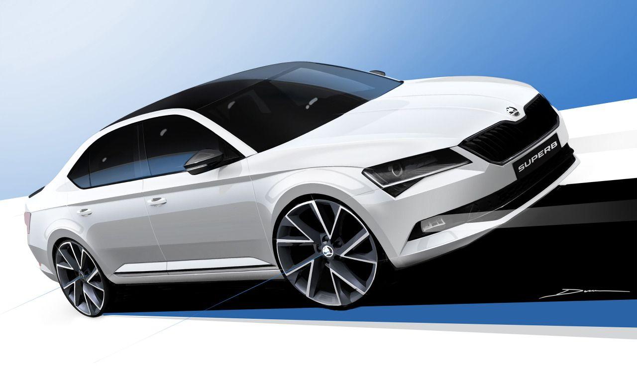 Gashetka Transportation Design 2015 Skoda Superb Sportline