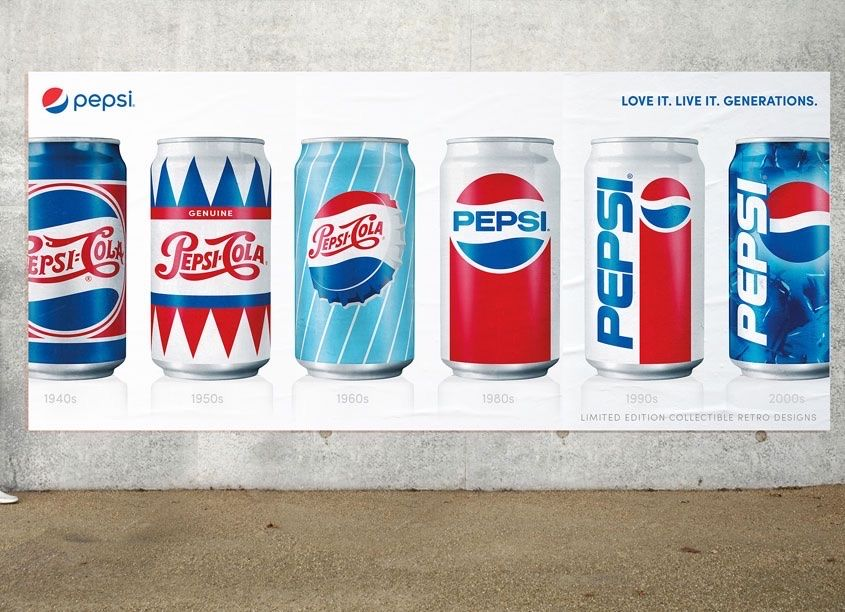 I love Pepsi's designs! 2019 Package Design Awards Pepsi