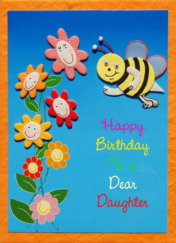 Childrens Birthday Greeting cards Handmade greeting card – Birthday Greeting Designs