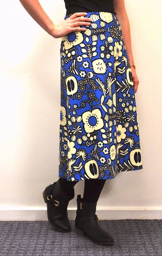 Free pattern for A-line skirt Sew Tessuti Blog - Sewing Tips ...