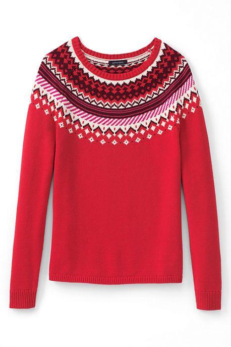 Women's Lofty Fair Isle Open Sweater   My Style - Fall/Winter ...