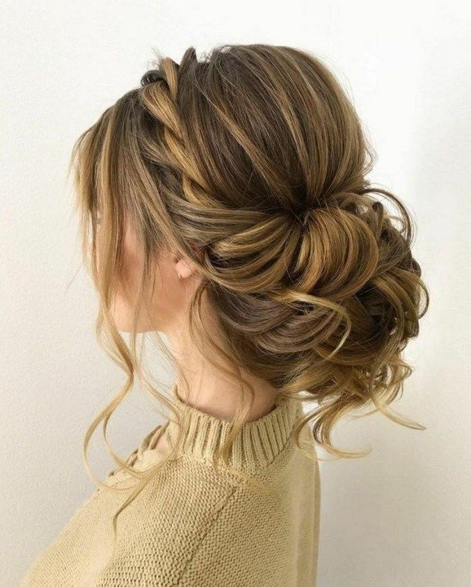 25+ facinating low bun wedding hairstyles 58 » Out-of-darkness.com
