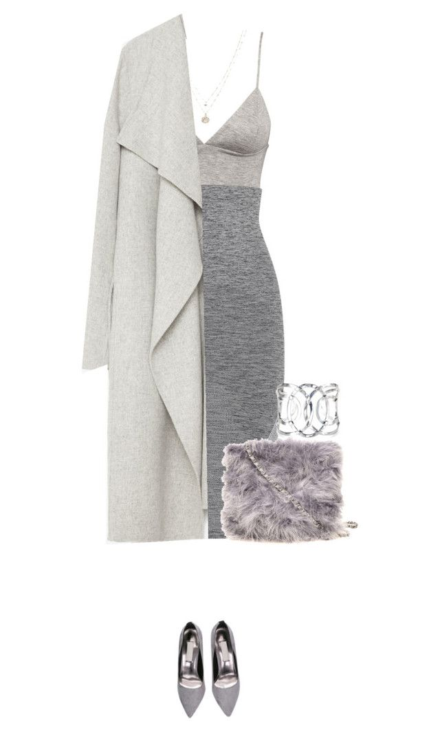 """Grey babe !"" by azzra on Polyvore featuring H&M, LNDR, LC Lauren Conrad, Zara, Dorothy Perkins, women's clothing, women, female, woman and misses"