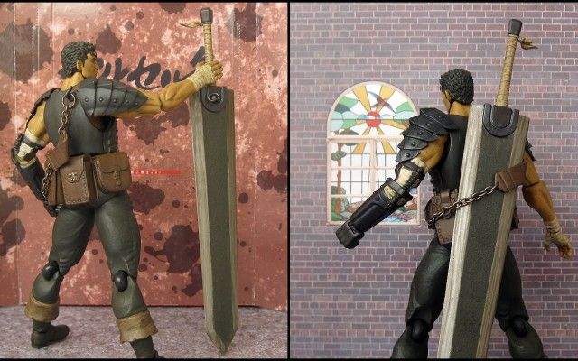 Elegant 2k16 Berserk Anime: Berserk Guts Dragon Slayer Sword 2 Top