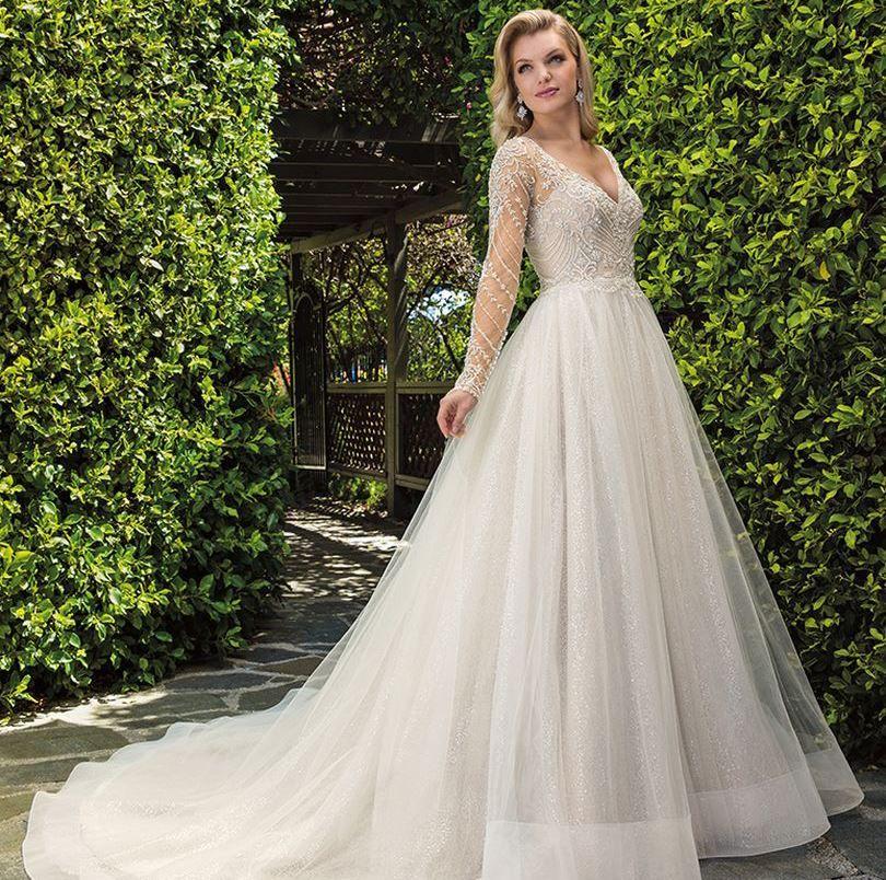 Casablanca. … Sparkle wedding dress, Ball gowns wedding
