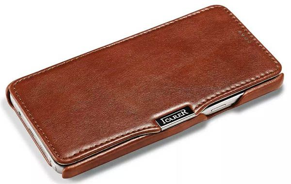 new product d75bc 9562d iCarer Samsung Galaxy Note 5 Case Vintage Genuine Leather Wallet ...