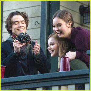 Chloe Moretz: First Day of 'If I Stay' Filming | Chloe Moretz, If ...