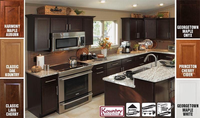 Hobo Kitchen Cabinets KOUNTRY WOOD CABINETS FREE DESIGN! | Kitchen cabinets, Kitchen