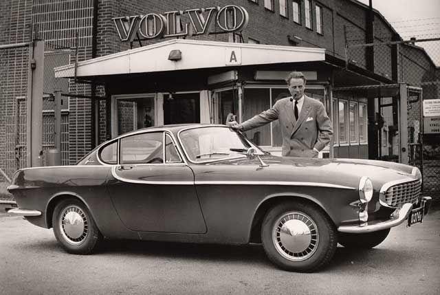 Goodoldvalves Volvo P1800 1961 I Bet It Was