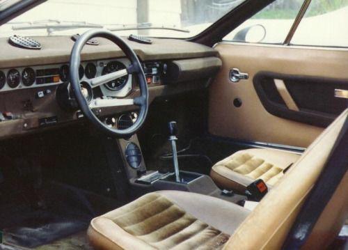 Lamborghini Urraco Interior Randoms