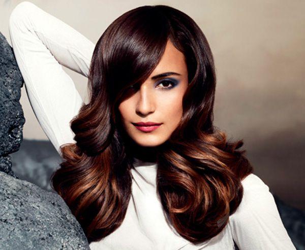 Ecco anche i tagli capelli lunghi dessange castani - Bagno di luce capelli ...