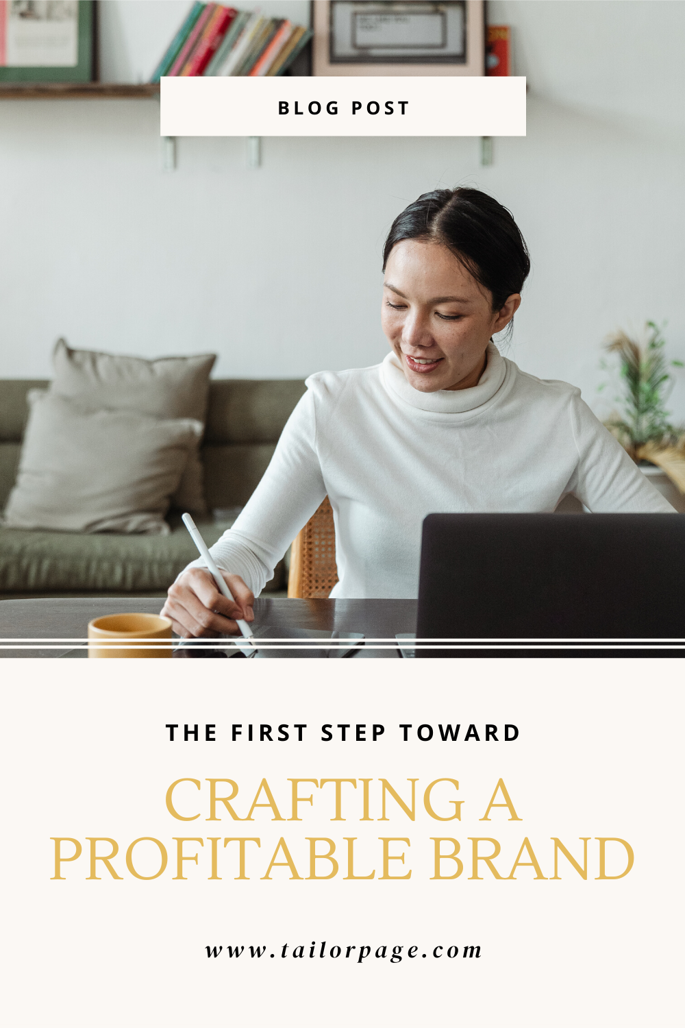 Hey, creative business owners! Click here to learn the first step you need to take to create a profitable brand for your small business.  #creativeentrepreneurs #newbusinesstips