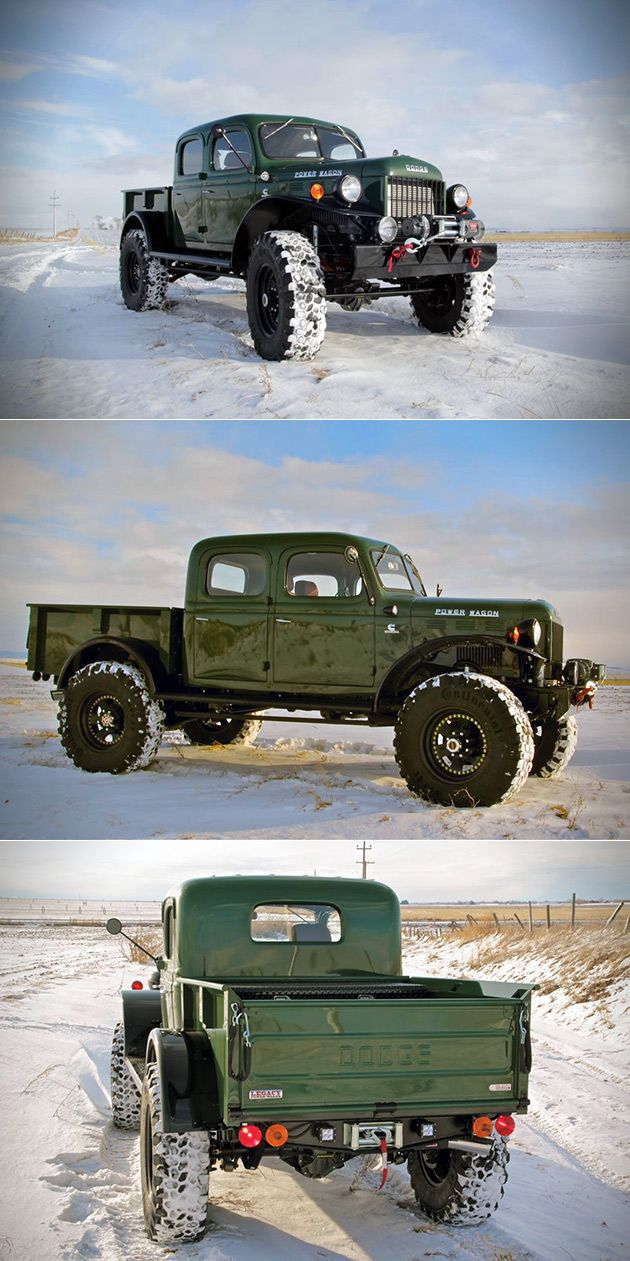 Legacy Power Wagon Trucks Dodge Cars 1949 Crew Cab
