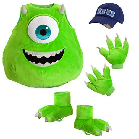 Pin By Diana Frank On Holidays Mike Wazowski Halloween Costume Mike Wazowski Costume Monster Inc Costumes