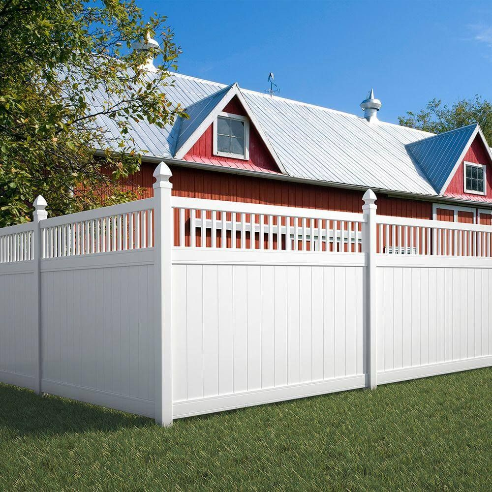 75 Fence Designs, Styles, Patterns, Tops, Materials and