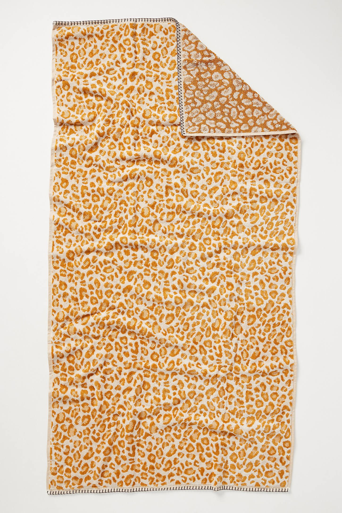 Lola Leopard Towel Collection With Images Towel Collection Anthropologie Towels