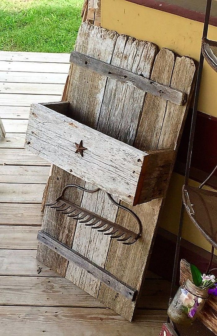 Some Cool Ideas With Old Wooden Shipping Pallets   Carpinteria ...