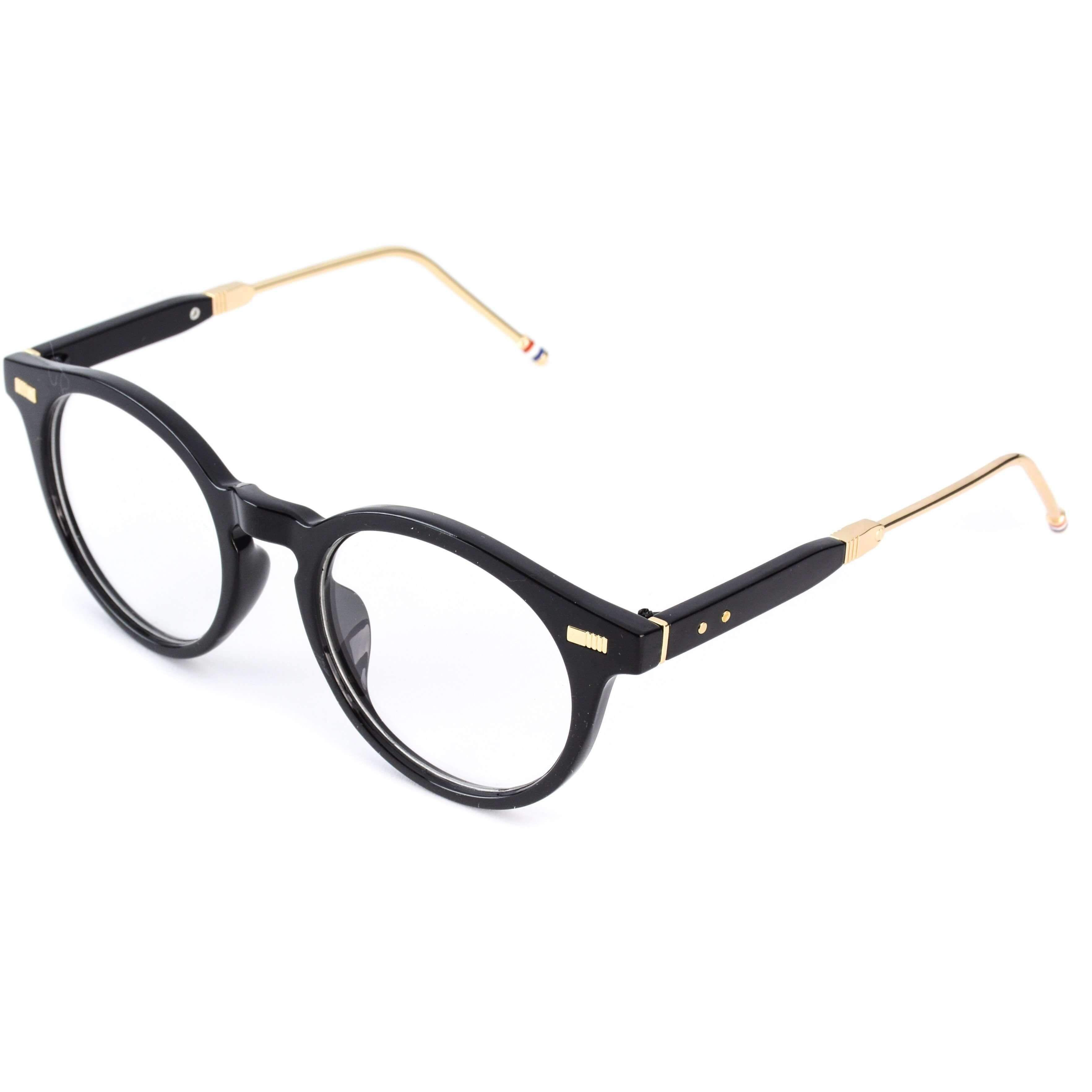 Becca Elegant Round Thick Frame Designer Glasses   Optical frames ...