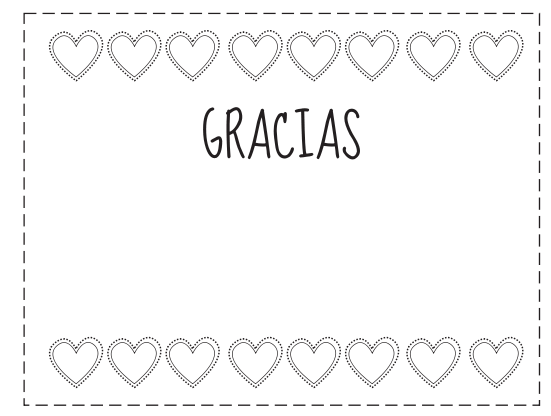 Tarjetas De Gracias Para Colorear Tarjetas De
