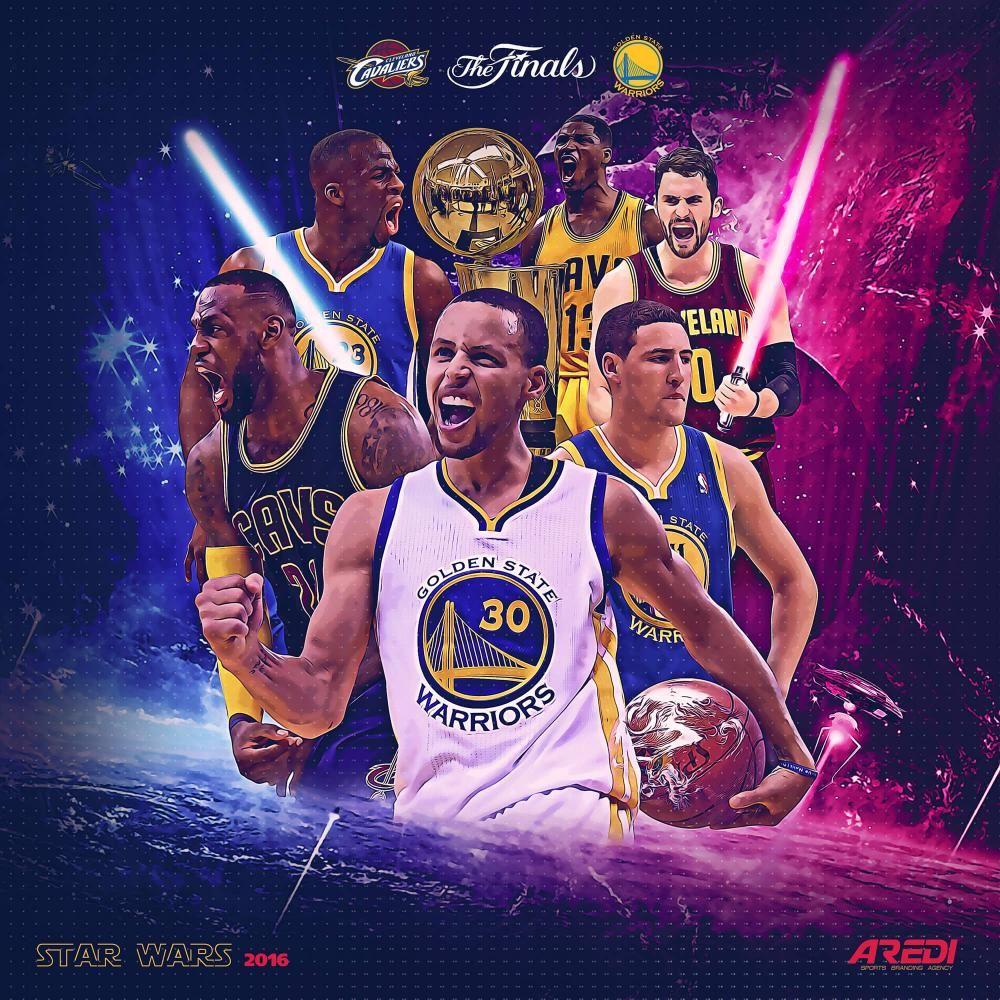 NBA Finals,art, Star Wars, Basketball, Cavs, CLEVELAND