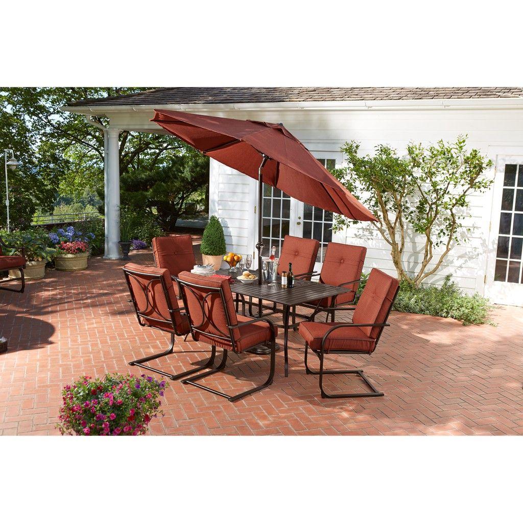 hd designs outdoors napa 7 piece patio set - Hd Designs Patio Furniture