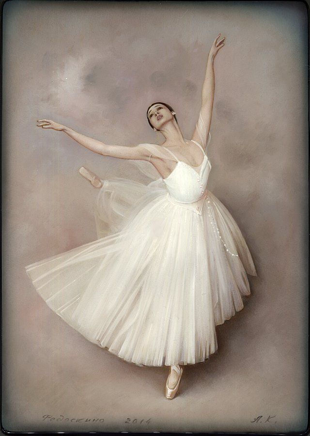 Раскраска, открытки балерина