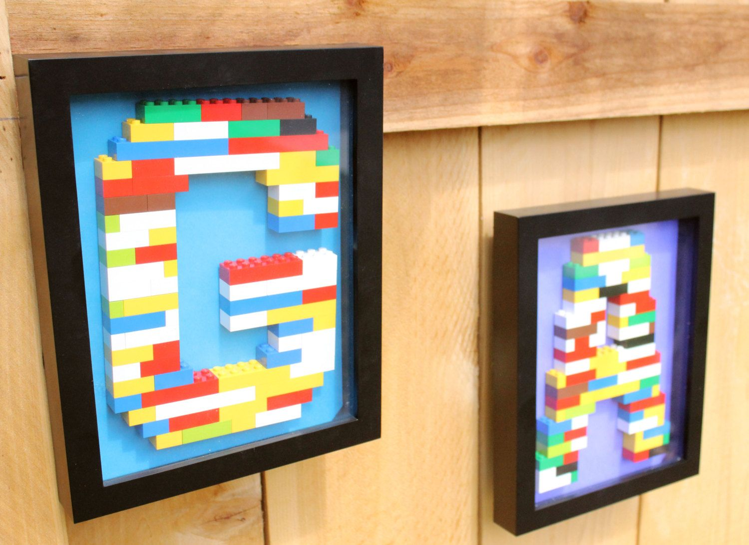 Monogram Lego Wall Art | Lego wall, Lego and Monograms