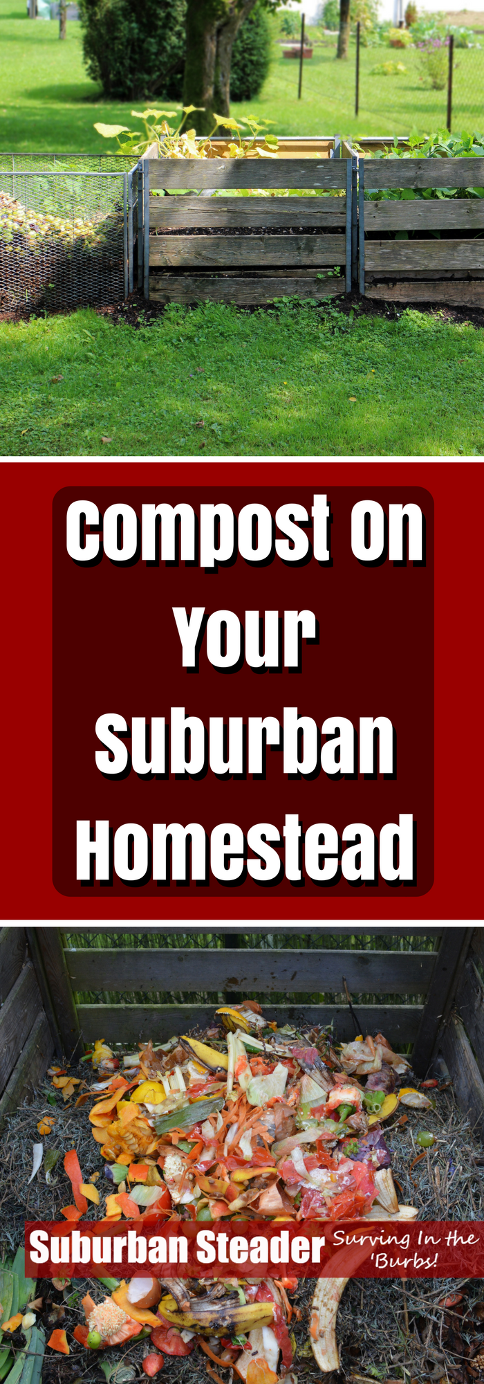 Compost is a wonderfully easy and inexpensive tool that every suburban homesteader should have in their toolbox. We'll teach you how to do it right here.