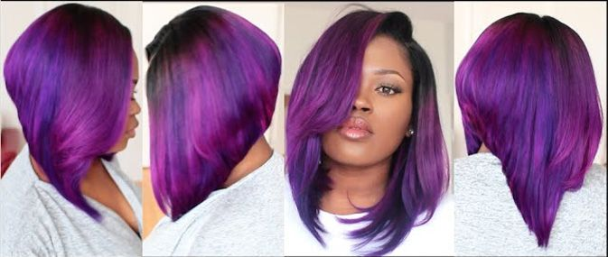 Fun Violet Bob Learn How To Make Violet Bob Wig With Peakmill