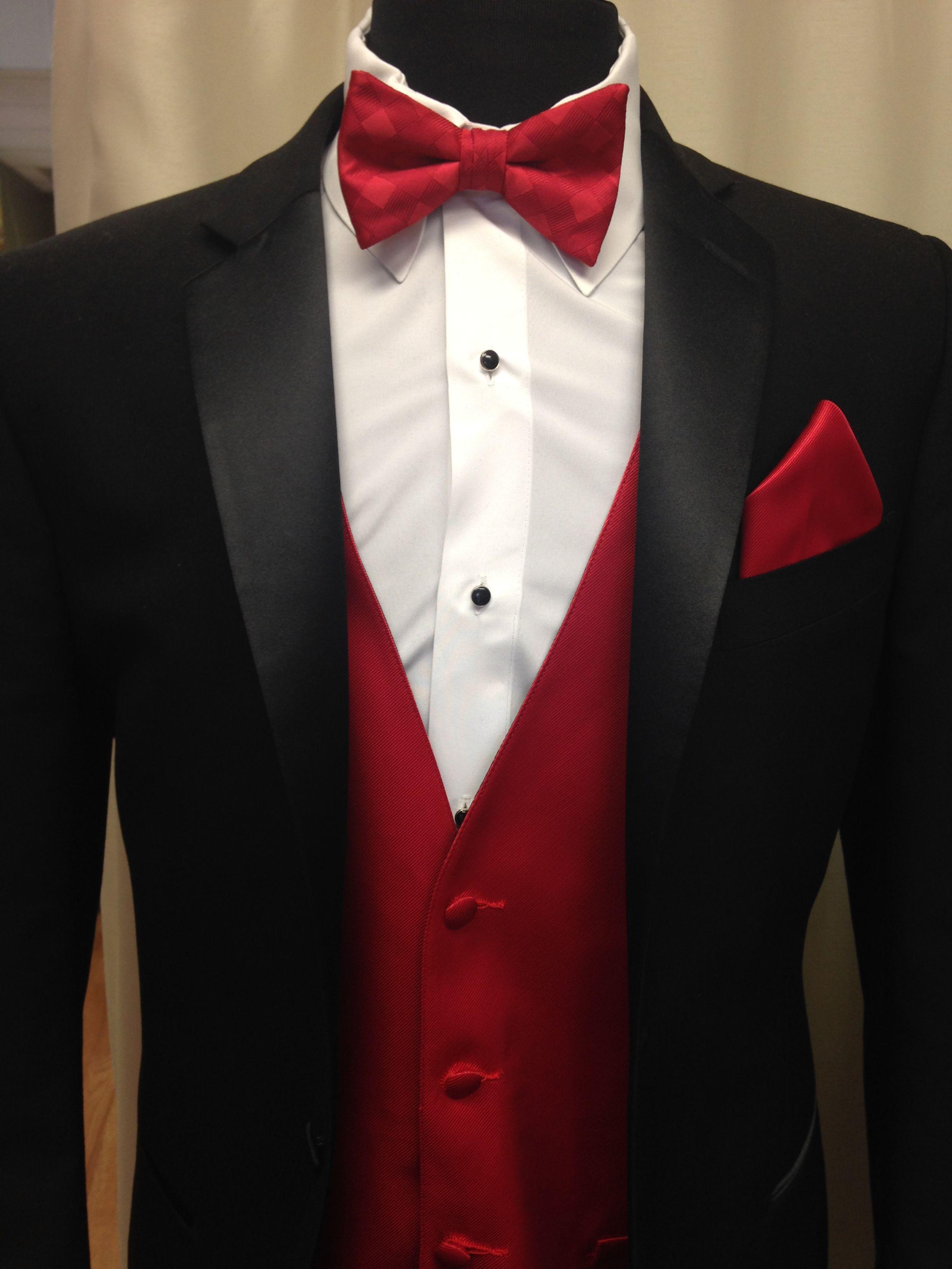 red   black   classic  stprom15  streettuxedo