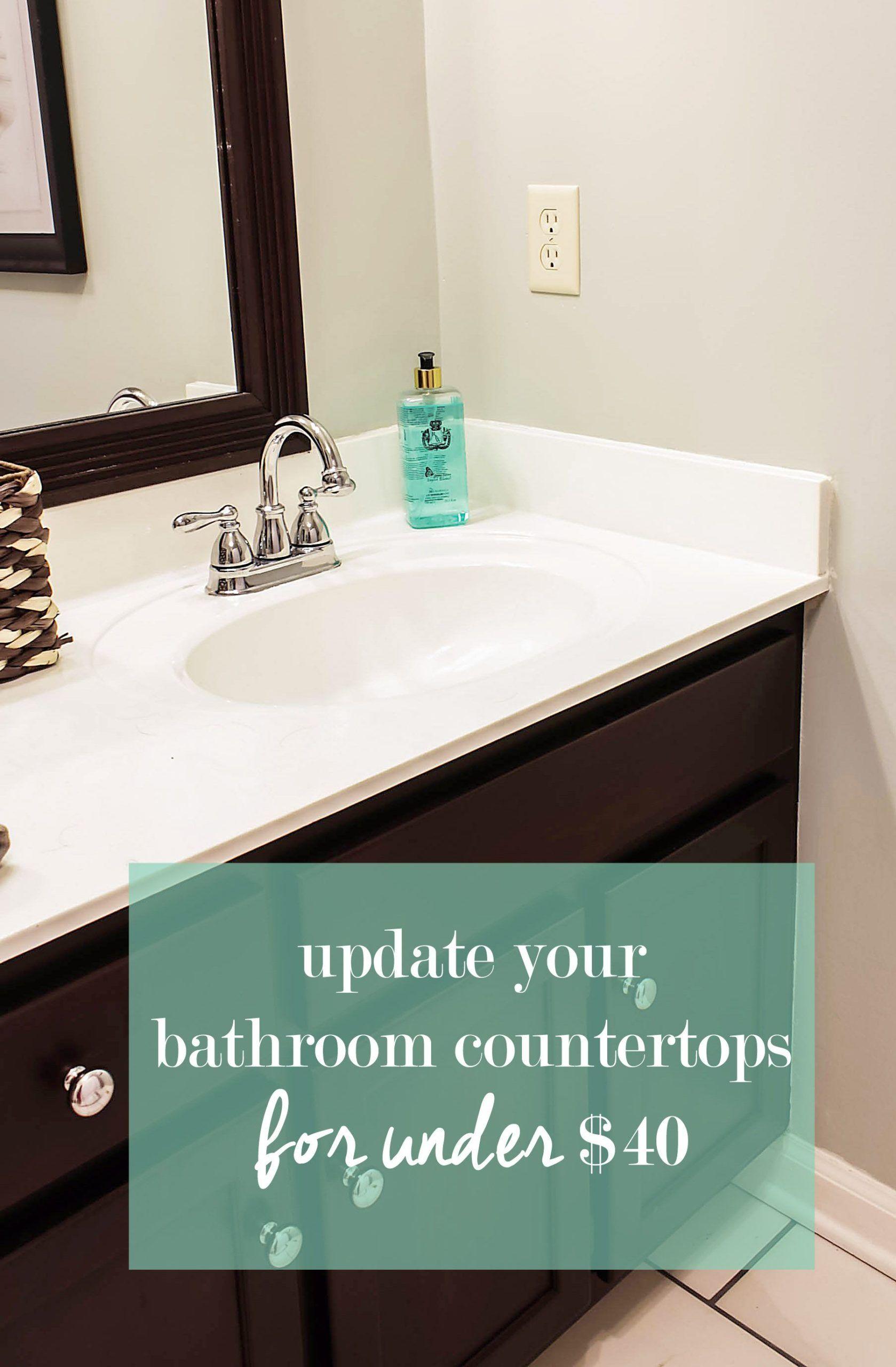 Wie Man Kultivierte Marmorplatten Malt Diy Tutorial In 2020 Arbeitsplatte Badezimmer Arbeitsplatten Badezimmer Gunstig