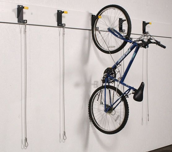 Wall Garage Storage Hooks For Bicycle