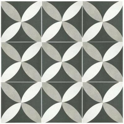 How To Get The Look Of Patterned Cement And Encaustic Tile For Less - Encaustic tile home depot