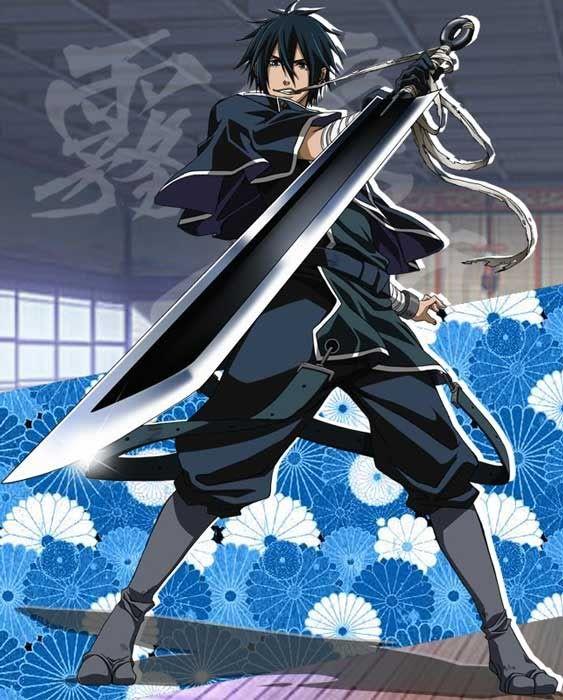 Anime Characters Using Sword : Brave saizou did i mention giant swords