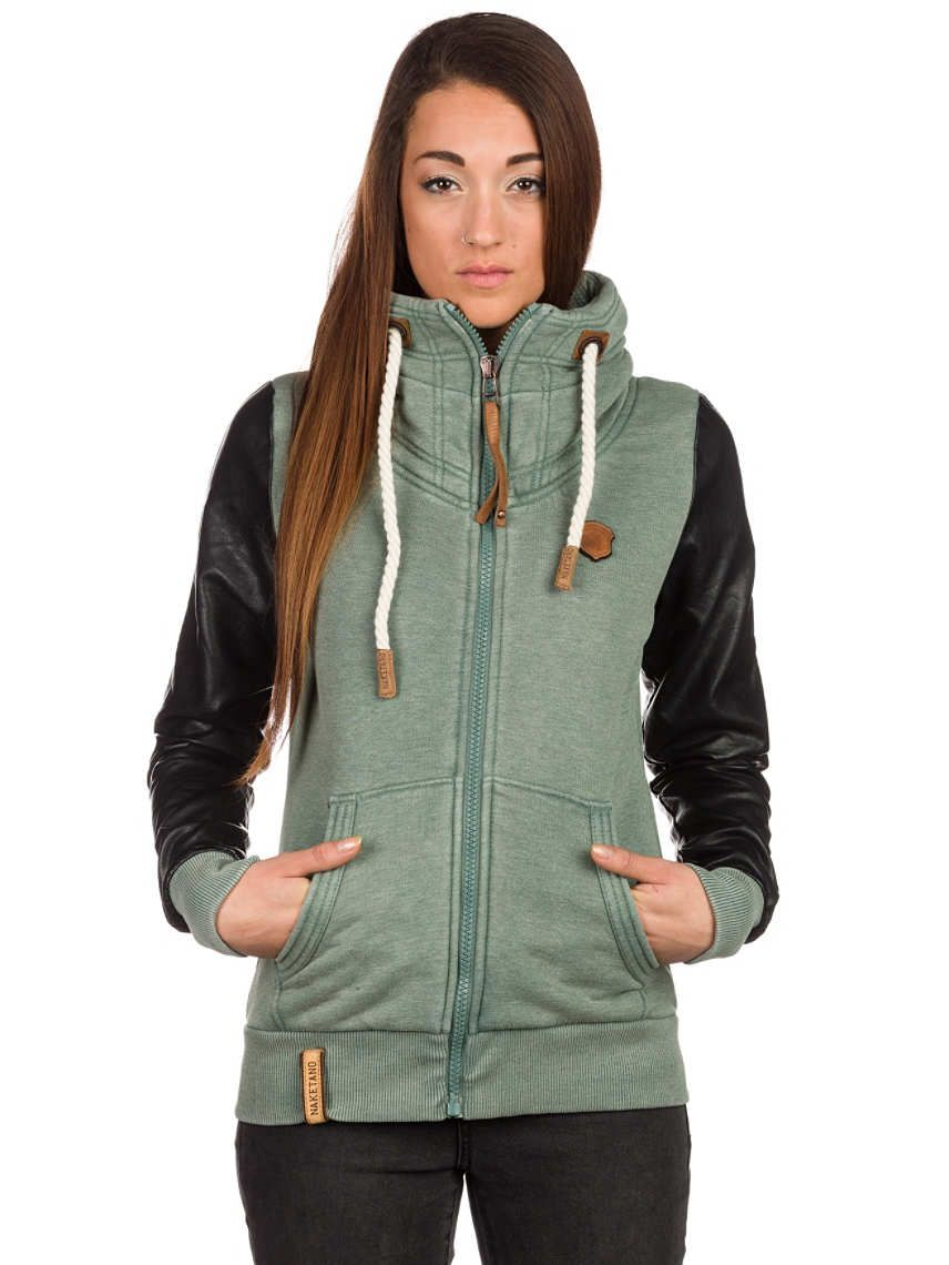 2d5fc587e29 Naketano Auf Liebeskasper Zip Hoodie Quick and easy ordering in the Blue  Tomato online shop . The Naketano Auf Liebeskasper Zip Hoodie.