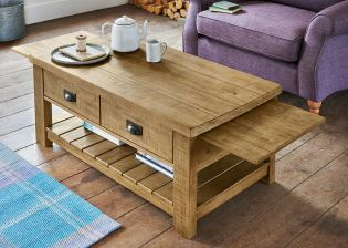 Extending Coffee Table Interior Design Decorating Ideas - Kendall coffee table