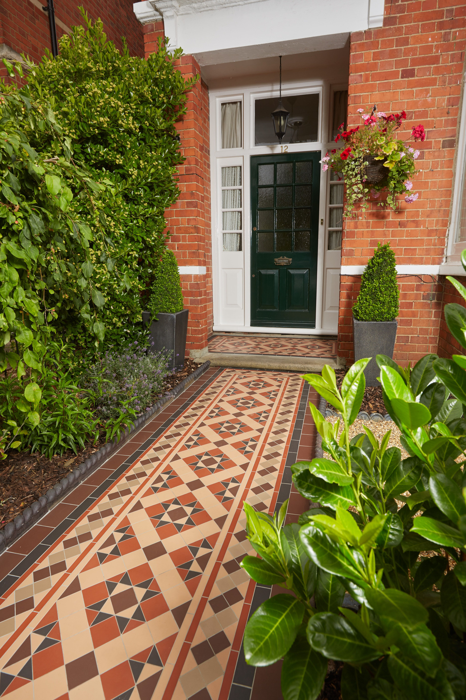 The Blenheim pattern Victorian Floor Tiles by Original