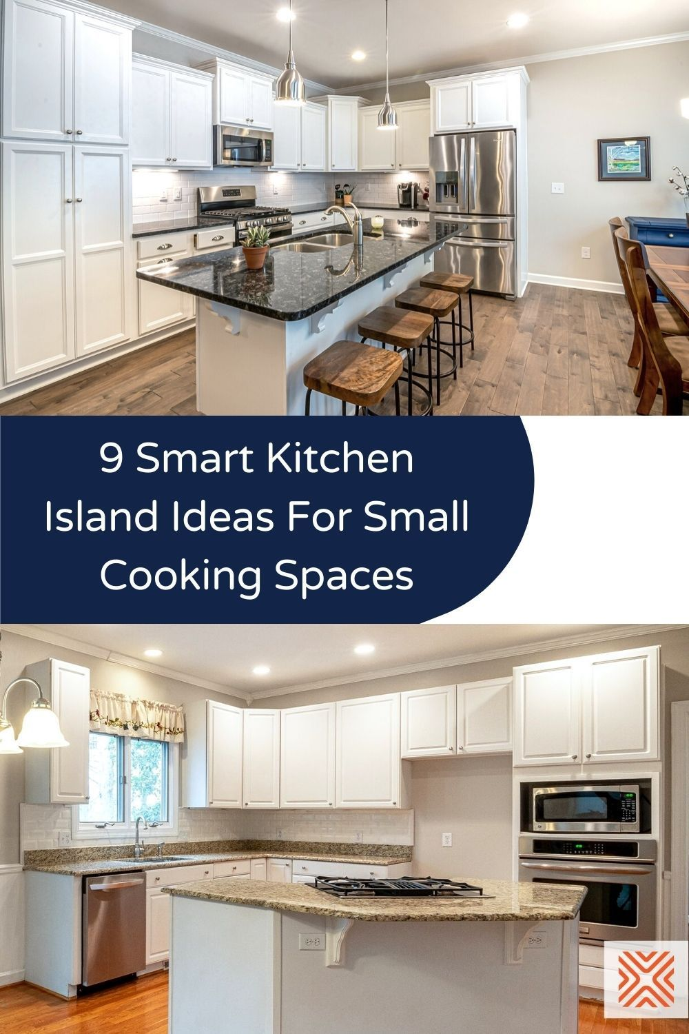 Not enough workspace in your kitchen? Our 9 small kitchen island ideas will inspire you to choose a kitchen island that makes the most of your kitchen layout without interrupting the workflow.
