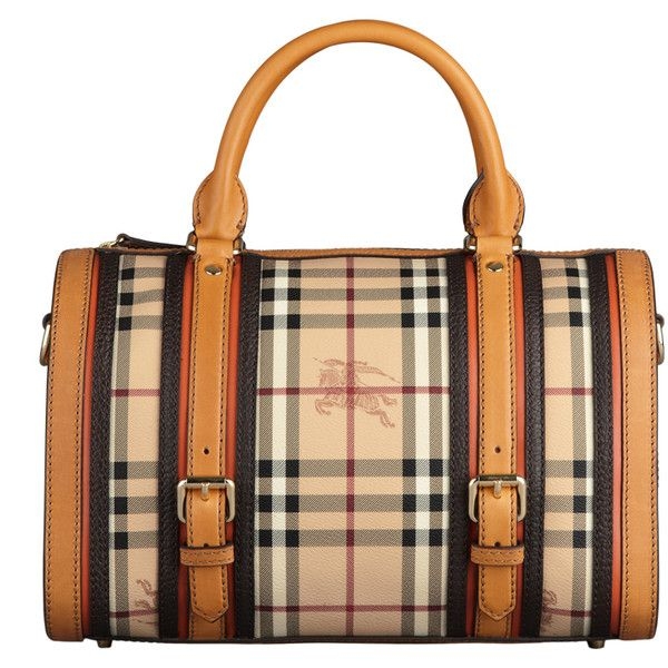 Burberry Medium Haymarket Belted Bowling Bag ($1,295) ❤ liked on Polyvore featuring bags, handbags, purses, accessories, сумки, borse, women's bags, burberry handbags, zip top bag and beige bag