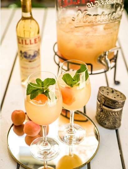 Photo of The refined drink with French flair: Lillet Southern. Here it goes z …