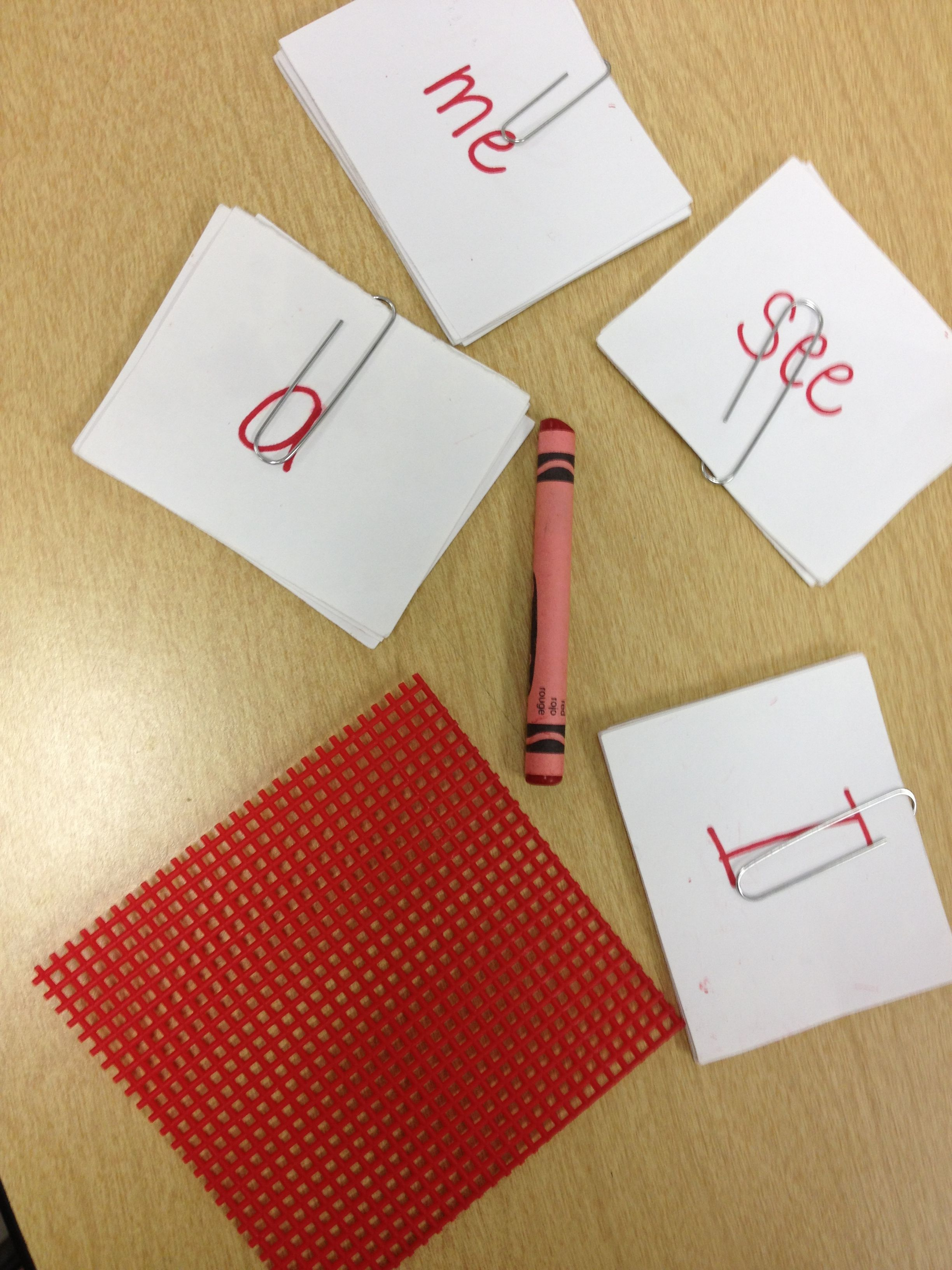 Red Word Method for learning sight words. Very interesting ...