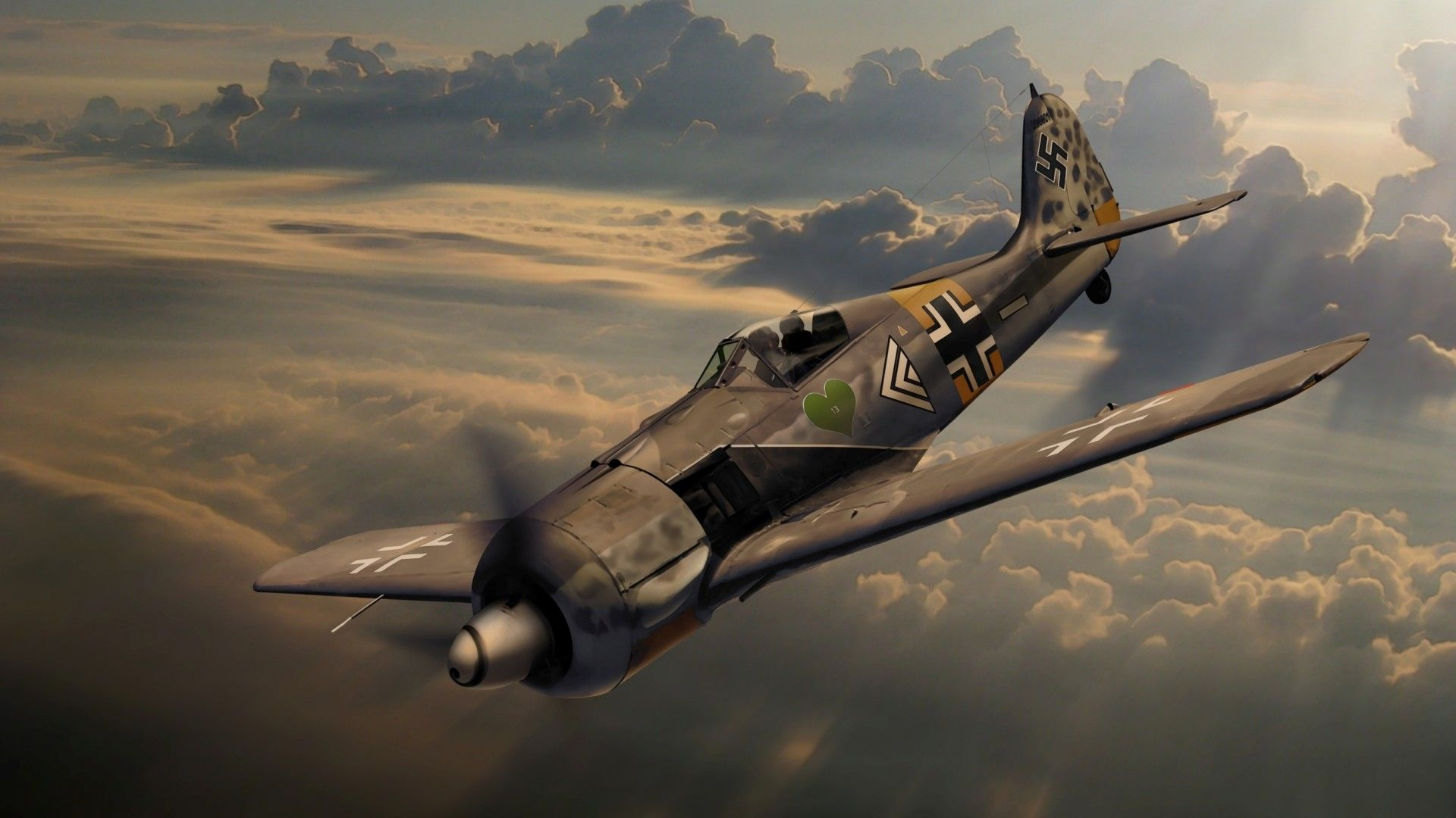 Focke Wulf German World War 2 Aircraft Wallpaper Http Www Gbwallpapers Com Focke Wulf German World War 2 Aircraft Wallpaper Aircraft Focke Wulf German