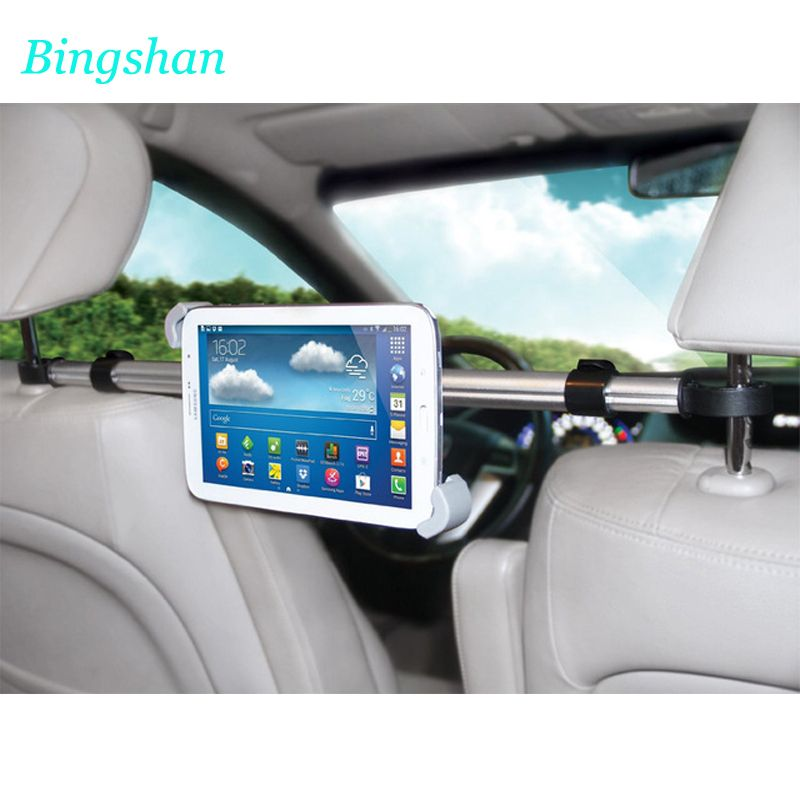 "360° Car Headrest Mount Holder Stand Bracket For 7/""-11/"" Tablet Laptop Universal"