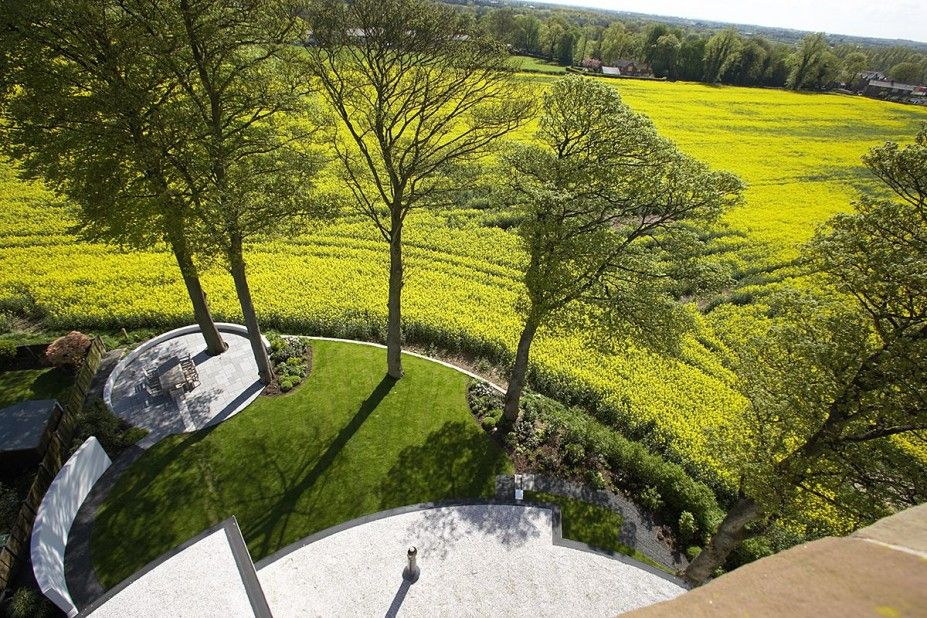 Architecture Design, Buy Home Yellow Garden Idea With Long Green View: Buy Home Inspiration : Lymm Water Tower by Ellis Williams Architects