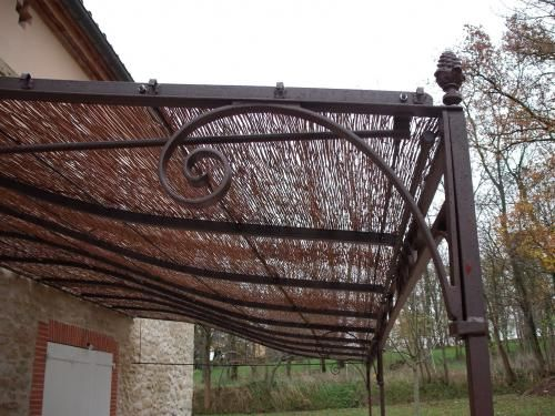 Pergola fer forgé | Outside Ideas | Pinterest | Pergolas, Iron ...