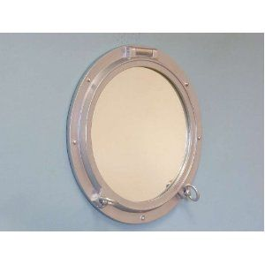 Bathroom mirror, nautical/boat theme | Porthole mirror ...